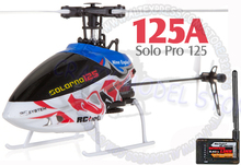 Nine Eagles SOLO PRO 125 6CH Flybarless Micro Helicopter with General Link BNF(China)