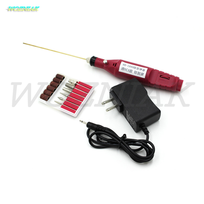Wozniak LCD screen removal of OCA adhesive glue Electric drill Grinding machine for iphone samsung huawei renovation tools<br>