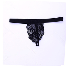 Buy Sexy Gay Mens Underwear Lingerie Lace G-string Bikini Sexy Mens Stretch G-string Pouch Briefs Gay Underwear Breathable Pants