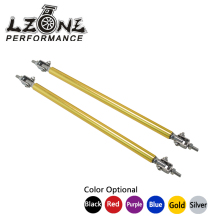 LZONE RACING - Universal Adjustable 20CM Front Bumper Lip Splitter Rod Strut Tie Bar Support JR-QT59