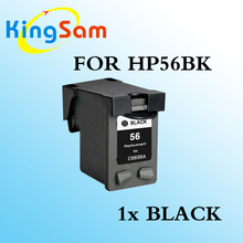 1x black ink cartridge for hp 56 for hp56 HP 1100 1110 1200 1205 1209 1210 7150 7155 7200 7260 7350 7450(China)