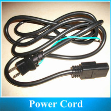 0.75x3 Computer Power Cord Japanese 2P plug standard 3-hole  with ground wire 1.8M 10pcs