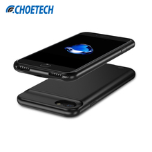 CHOETECH Battery Charger Case For iPhone 8/7/ 6/6S 4.7 inch 2850mAh Portable Power Bank External Pack Backup Case for iPhone 6(China)