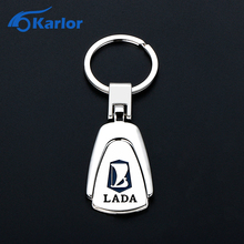 For Lada Metal Key Chain Keychain Auto Key Ring Accessories Car Styling For Lada Granta Niva Priora Kalina 2 Largus Vesta XRAY