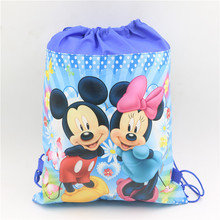 1pcs non-woven drawstring school&travel&picnic backpacks  birthday gifts/goodie bags event party supplies