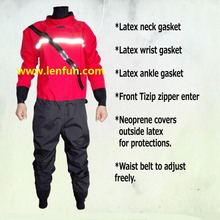 2016 front zipper dry suit,latex neck and wrist /ankle gasket  kayak,whitewater,rafting,sailing,boating windsurfing