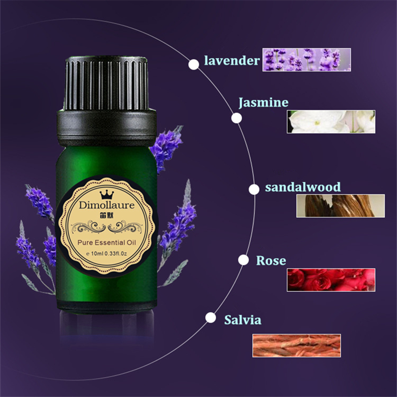 Dimollaure Good sleep essential oil Improve insomnia relax mood Aromatherapy fragrance lavender essential oil 12
