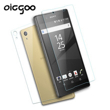 Oicgoo 2PCS/Lot 0.3mm Front+Back Tempered Glass For Sony Xperia Z M4 M5 Z4 Z5 Z2 Z3 Compact Film Screen Protector For Sony Z5 Z4