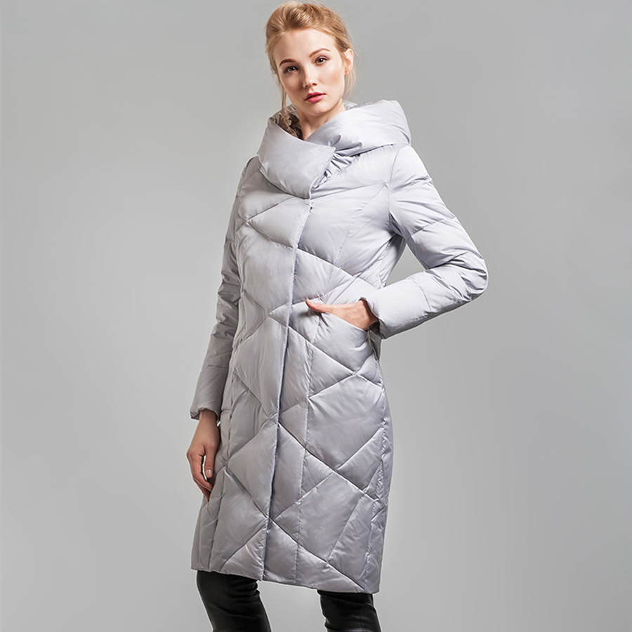 Women Goose Coats An Elongated Women