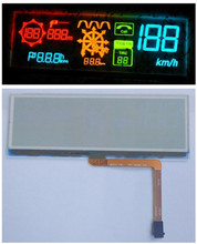 4.1 inch 10P COG Transparent OLED HUD Car Display Screen 231 ICON LD1738 Drive IC I2C Interface(China)