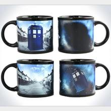 New Version Color Changing Mug Doctor Who Colour Change Coffee Mug