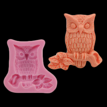 3d Owl Cake Decorative Silicone Mold, Candy Chocolate Fudge Diy Baking Mold Soap, Kitchen Accessories Formas De Silicone