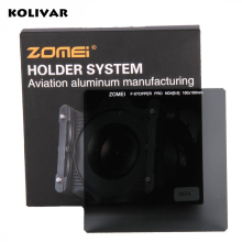 KOLIVAR Zomei Square Filter ND4 Pro Optical Glass 100x100 2-stop ND 0.6 ND Filter for Cokin Z Series Lee Hitech Singh-Ray Holder(China)
