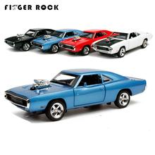 The Fast and Furious Dodge Charger Autos Model 1:32 Scale Diecast  Metal Alloy Car Kids Simulation Acousto-optic Muscle Car Toys