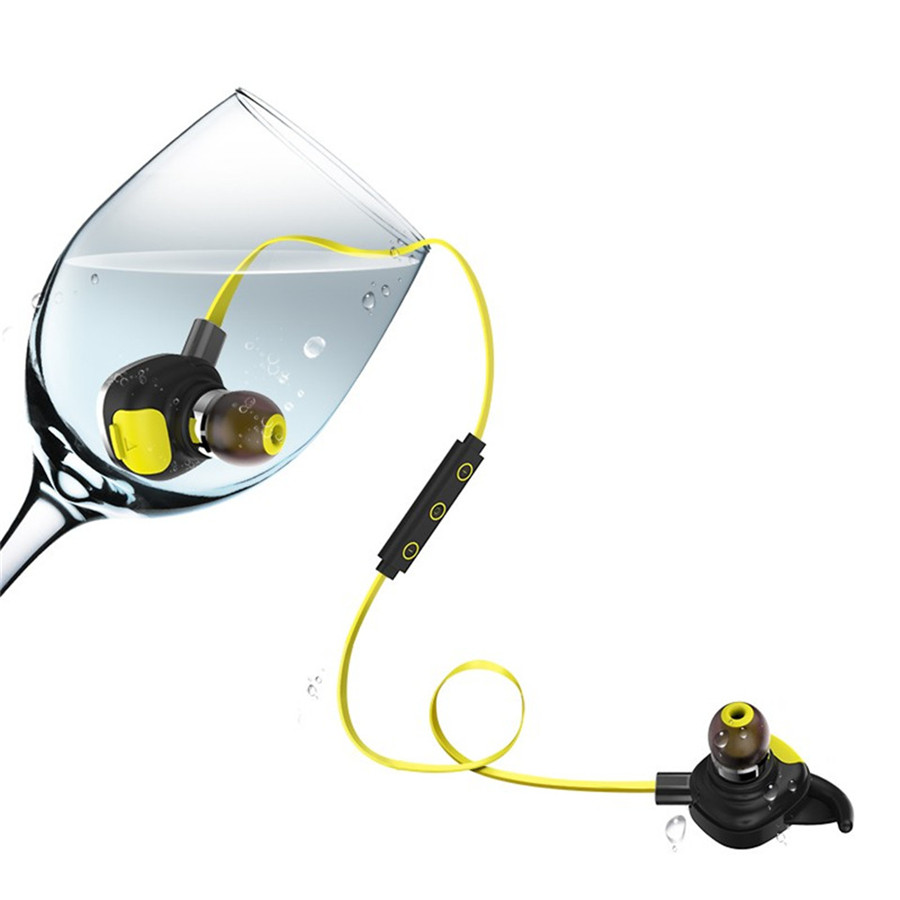 U5 Plus Portable Sport Earphone Waterproof IPX7 Wireless Bluetooth 4.1 Earbud Magnetic Stereo NFC Handfree Headset for xaomi<br>
