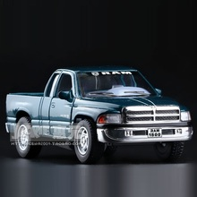 High Simulation Exquisite Diecasts&Toy Vehicles: KiNSMART Car Styling Dodge RAM Pickup Truck 1:44 Alloy Diecast Model Toy Car
