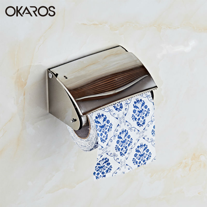 2016 Banyo Aksesuarlari Free Shipping Sus304 Stainless Steel Tissue Toilet Paper Holder Roll Wc Box Bathroom Accessories XY-p001<br><br>Aliexpress