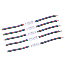 5pcs/lot RGB led Amplifier controller 4 pin 12V 12A Mini Portable LED RGB Amplifier for RGB 5050/3528 SMD led strip