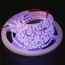 0.5/1/2/3/4/5M 2835 3528 5050 SMD 60LED/M 120LED/M DC12V UV Ultraviolet Purple LED Strip Black Light Diode Tape Ribbon LED Lamp(China)