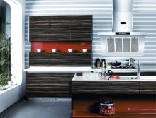 Acrylic Kitchen cabinet(LH-HA003)(China)
