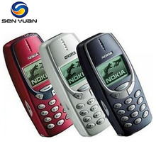 3310 Original Nokia 3310 mobile phone GSM Refurbished Nokia 3310 Cell Phone Free Shipping(China)