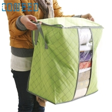 Coneed Hot Sale Portable Organizer Non Woven Underbed Pouch Storage Bag Clothing & Wardrobe Storage Foldable  U6902 DROP SHIP