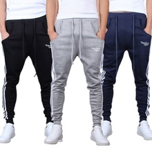 2017 Cotton Male Pants Sweat Pants Men Aesthetics Pant Wear For Runners Clothing Joggers Trousers Boys Mens Sudaderas Mujer