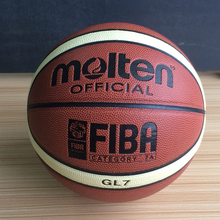 New Season Official Original Molten Basketball Ball GL7 Ball New Arrival Molten PU Leather Size 7 Basketball Gifts Net Needle(China)