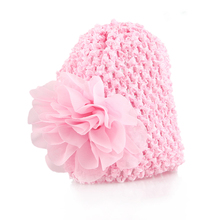 Lovely Baby Hat Big Floral Baby Girls Hats Flower Baby Girls Caps Children's Spring Autumn Hats For Girls Kids Accessories