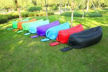 Fast Inflatable Party Air Sofa Sleeping Bag Camping Beach Sofa Lounger Bed