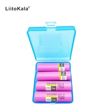 4PCS New 100% Original Liitokala For Samsung 18650 2600mah battery ICR18650 JM  Li ion 3.7 V rechargeable battery