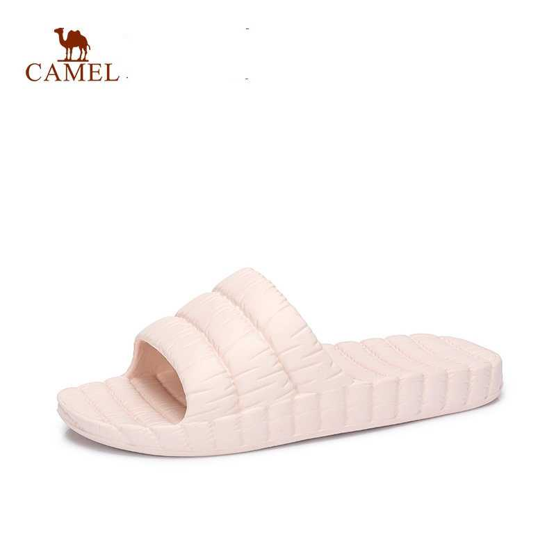 c791f9532fcbb CAMEL Women Shoes Winter Summer Simple Casual Indoor Slippers Basic  Bathroom Soft Plastic Home Slippers Slides