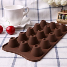 1PC Cylindrical DIY Chocolate Candy Cake Silicone Molds Cooking Cake Bakeware Tools Cake Decorating Mould(China)