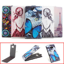 5 Painted Patterns For Samsung Note 7 Case Leather Stand Wallet Flip Cover Case For Samsung Galaxy Note 7 N930F Mobie Phone Bags(China)