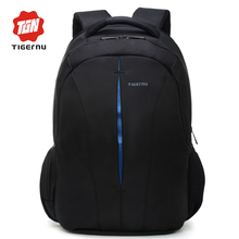 2017 Tigernu Brand Women Backpack Student College School Bags Waterproof Backpack Men Rucksack Mochila Laptop Bag Backpack(China)
