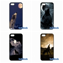 Howl of A Wolf Under The Moon Phone Cases Cover For Blackberry Z10 Q10 HTC Desire 816 820 One X S M7 M8 M9 A9 Plus(China)