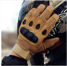 QCHENKIWEI Quality Motorcycle Gloves Full Finger Outdoor Sport Racing Motorbike Motocross Protective Gear Breathable Glove Men