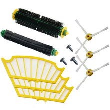 11 Pc/lot side brush filter kit replacement for Irobot Roomba 500 527 528 530 532 535 540 555 560 562 570 572 580 581 590 New(China)