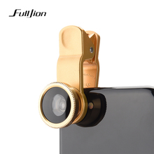 Mobile Phone Lenses Wide Angle Macro Fisheye Lens 3-in-1 Kit with Clip 0.67x Fish Eye Lens for iPhone For Samsung Lens Universal(China)