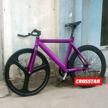 fixie Bicycle Fixie/Fixed gear Bike Aluminium Frame and Fork different colors fixie bike velo frameset