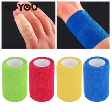 Buy AUYOU Security CE/FDA Certification Waterproof Self-Adhesive Elastic Bandage Cohesive First Aid Medical Health Care for $1.07 in AliExpress store