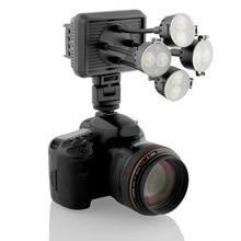 8 LED Video Light 720 lux Illuminator Photography Lights for Camcorder DSLR Camera For Canon Sony Nikon Pentax