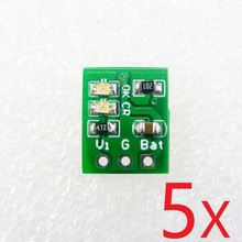 5PCS Very light & small Li-ion Rechargeable Battery Charger Module ME4056 instead TP4056 for 14500 18650 breadboard power bank(China)