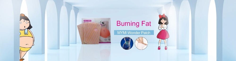 15Pcs MYMI Wonder Slimming Patch Belly Abdomen Weight Loss Fat burning Slim Patch Cream Navel Stick Body Massager C322 2