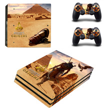 Buy Assassin's Creed Origins PS4 Pro Skin Sticker Sony PlayStation 4 Console 2 Controllers PS4 Pro Skin Stickers Decal Vinyl for $9.40 in AliExpress store