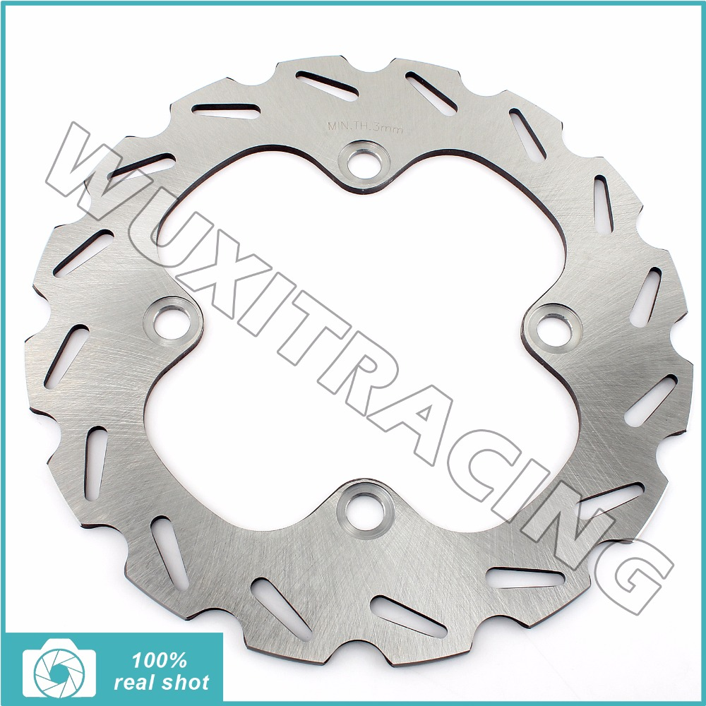 New ATV Dirt Bike Quad Light Weight Rear Brake Disc Rotor for YAMAHA YFM 550 EPS Grizzly Auto FI Ducks Unlimited Edition 07-14<br>