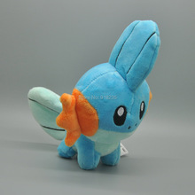 "Free Shipping EMS 30/Lot New Plush Doll Lovely Toy Mudkip 5.5"" For Children Stuffed Toys(China)"