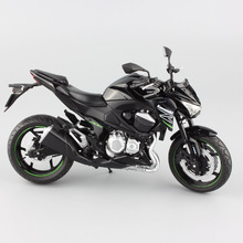 child 1:12 to scale Kawasaki Z800 Motorcycle miniature metal tank street motor bike car diecast gifts racing modeling Kids toys(China)