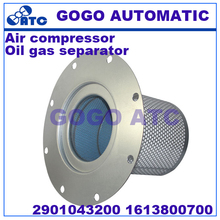 High quality Oil gas separator 2901043200 1613800700 Air compressor maintenance accessories Three filters(China)