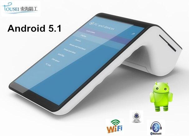 pt7003 android terminal bar code scanner chip card magnetic stripe reader handheld pos devices emv - Receipt Scanner